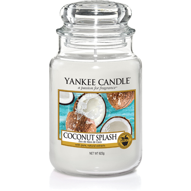 Coconut Splash Large Jar