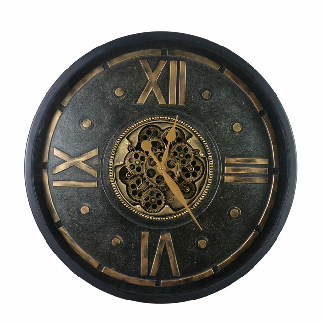 Wall clock Industrial Glaucous 80cm