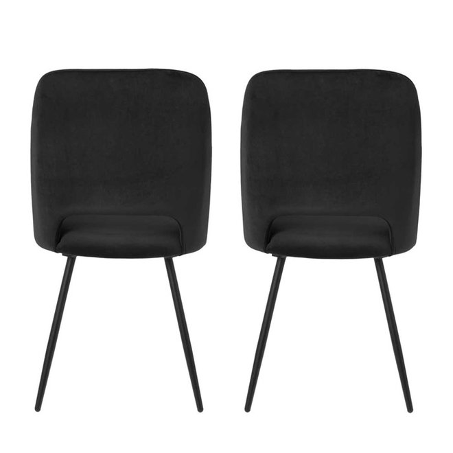 Dining room chair Elja black - set of 2