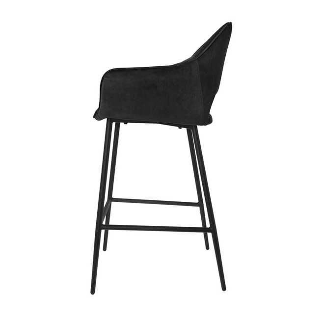 Chaise de bar Eve noir