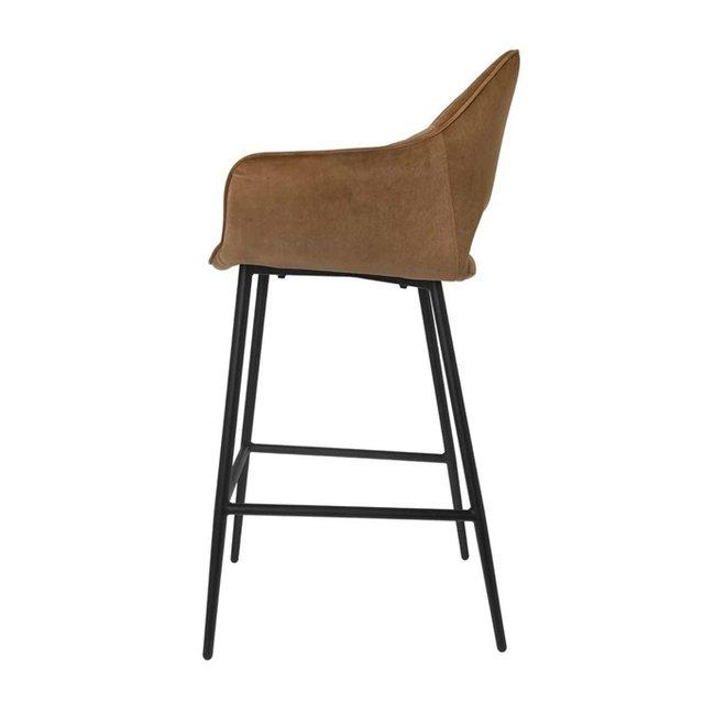 Bar chair Eve mocha