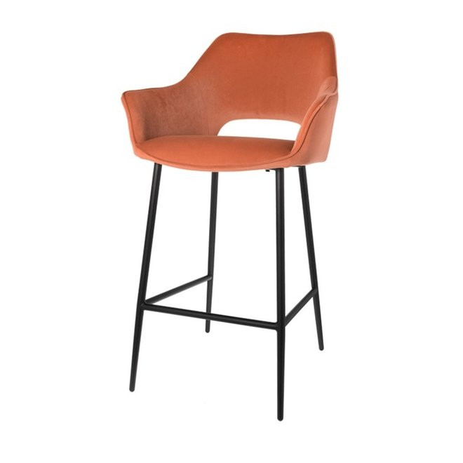 Bar chair Eve brique