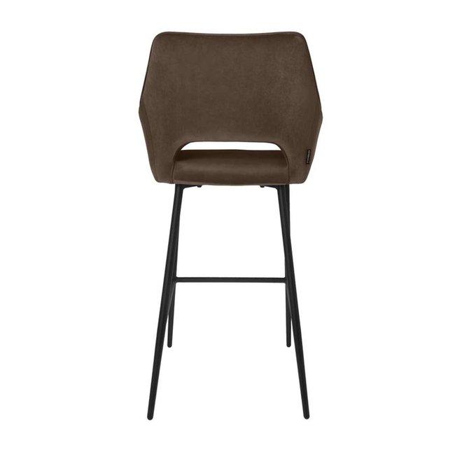 Bar chair Eve taupe