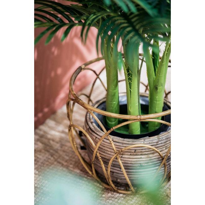 Metalen Bamboe Manden set van 3