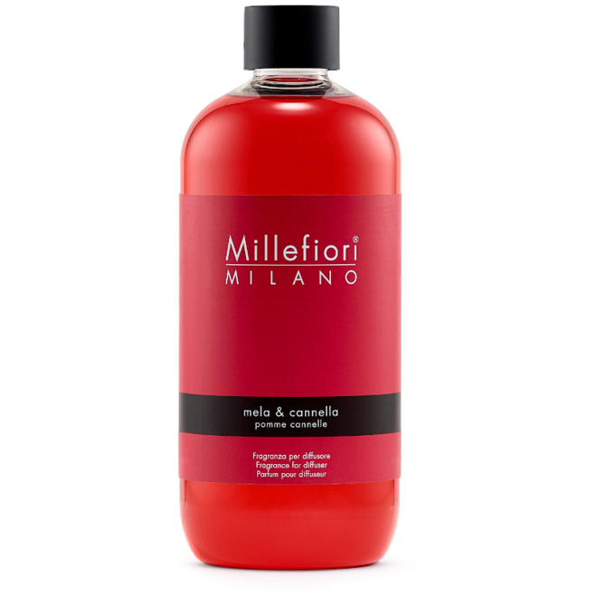 Recharge pour bâtonnets de parfum 500ml Mela & Cannella