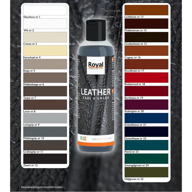 Lederfarbe Farbe wiederbeleben