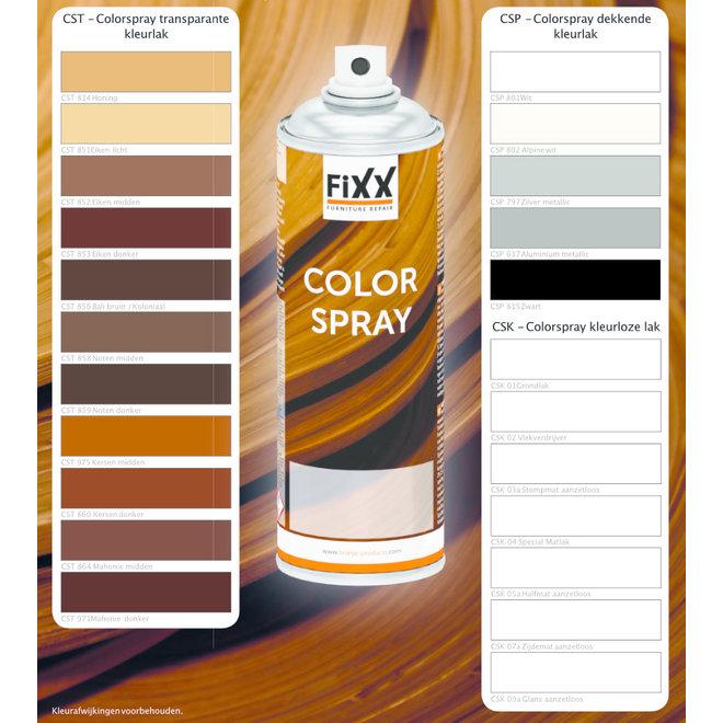 Laque de meubles en spray de couleur