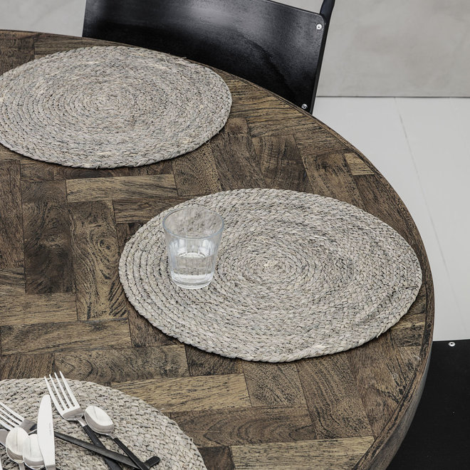 Set de table Circle Light Grey - 4 pièces