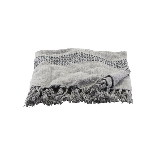 Throw Kolonia gray - 180x130cm