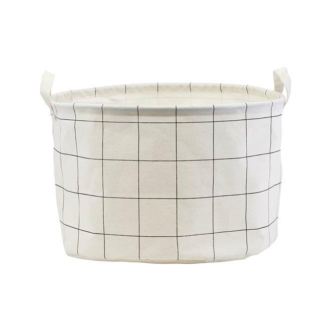 Mand Squares wit zwart 25cm
