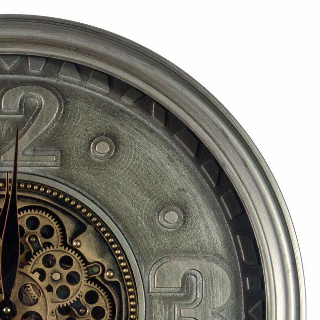 Wandklok gears 4 cijfers 70cm
