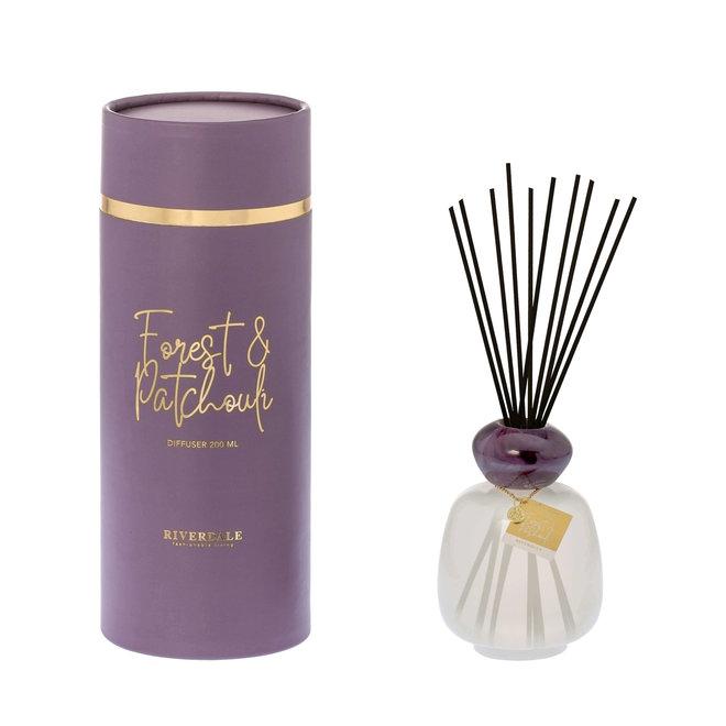 Bâtonnets parfumés Marley aubergine 200ml