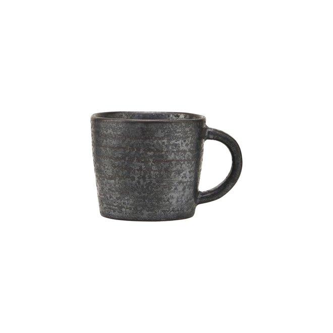 Tasse à expresso Pion noir 6cm