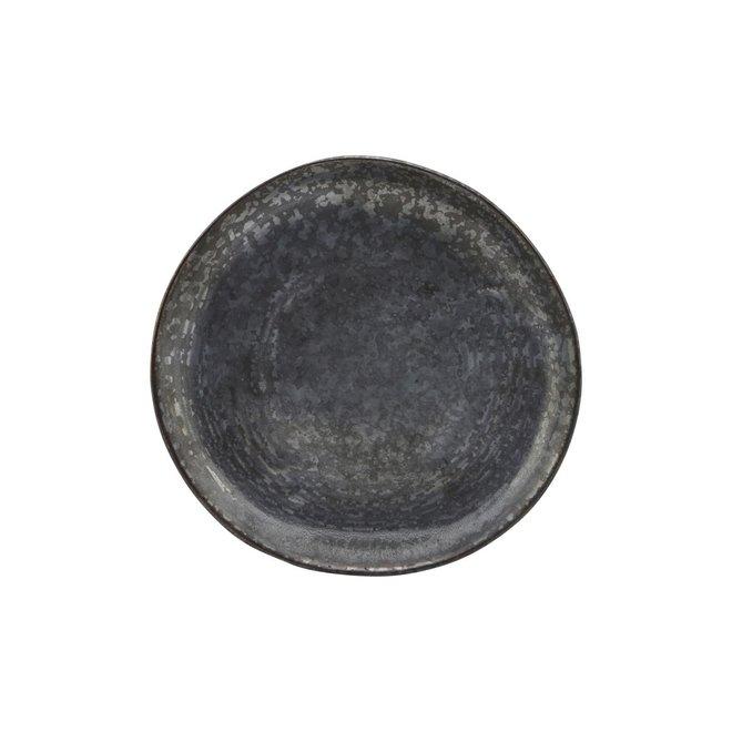 Gebaksbordje Pion zwart 16,5cm