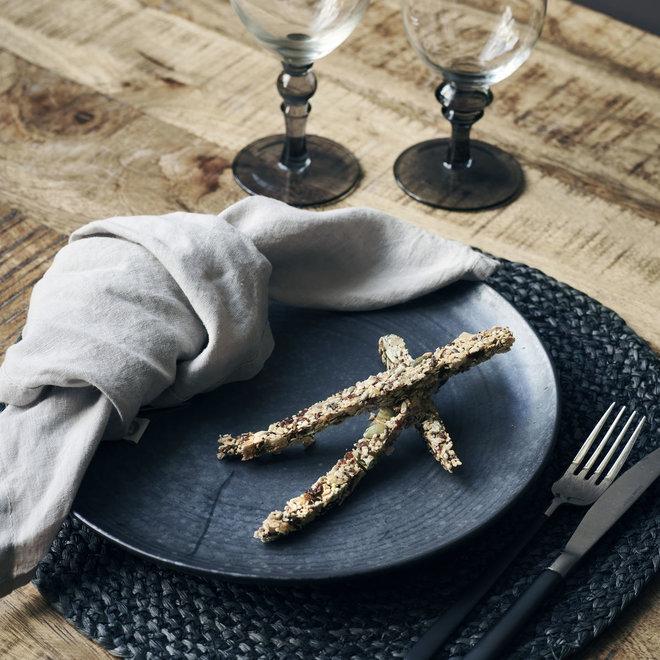 Dinerbord Pion zwart 28,5cm