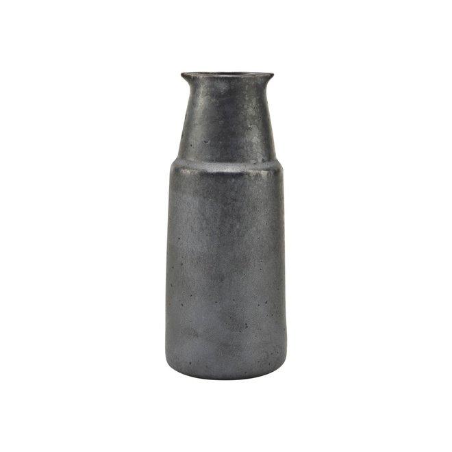 Fles Pion zwart 18cm
