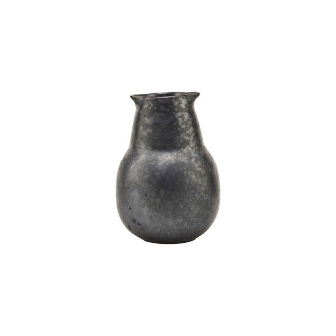Flasche Pion schwarz 12cm
