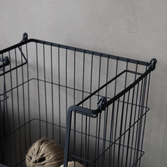 Basket Taw black 42cm