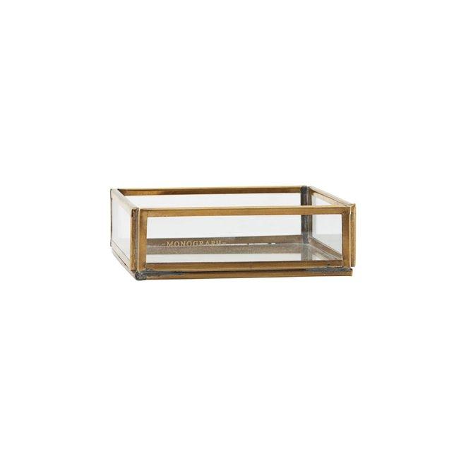 Storage box Brass 10cm