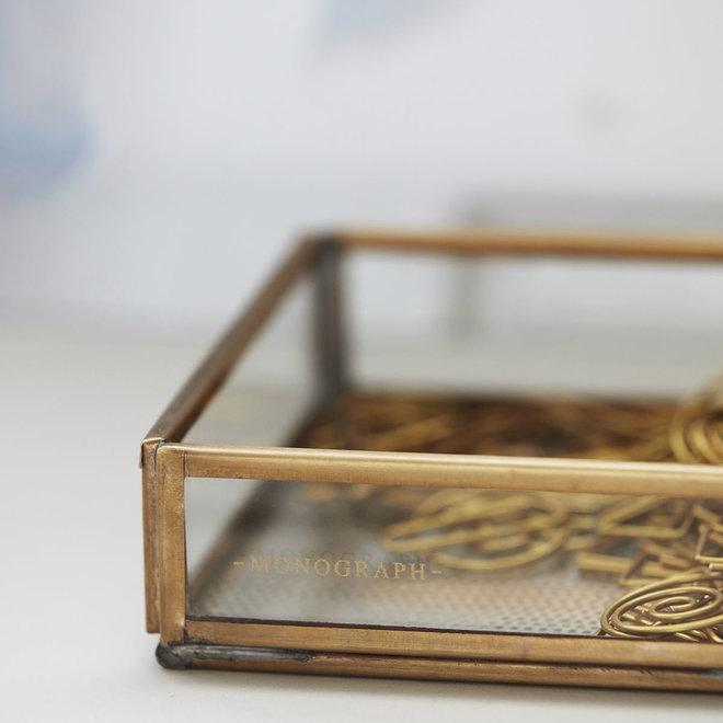 Aufbewahrungsbox Messing 10cm