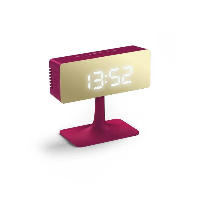 Cinemascape alarm clock pink