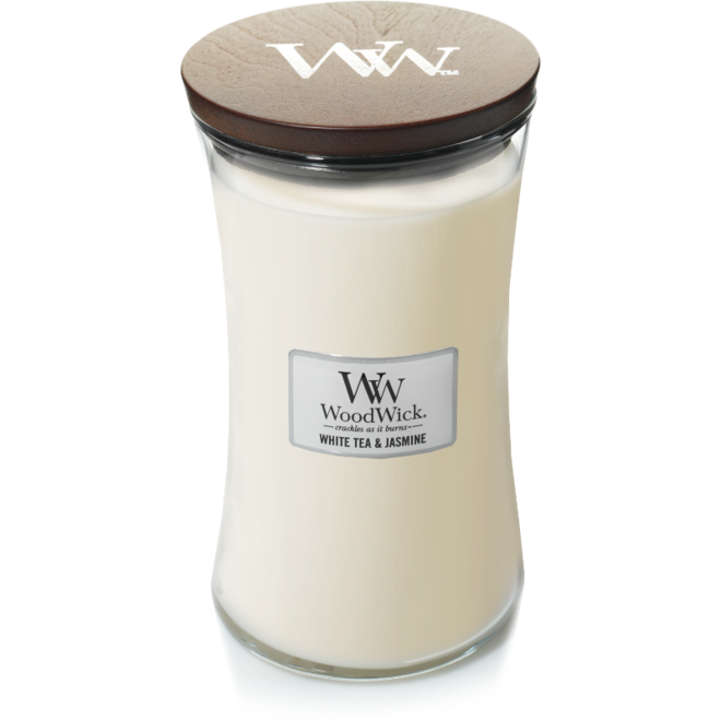 White Tea & Jasmine candle large