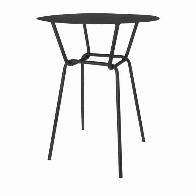 Side table Rocco black 55cm