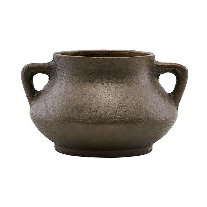 Flowerpot Season 02 Antique brown iron