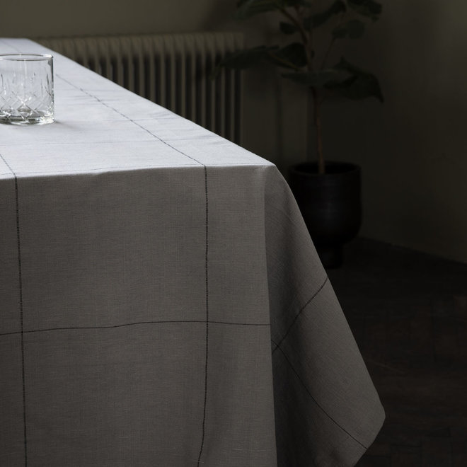 Tafelkleed Irra Grijs 250x140cm