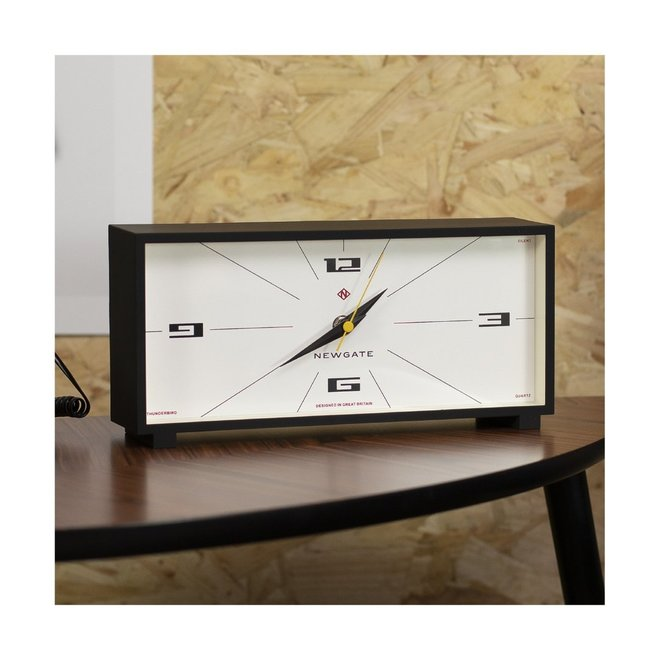 Thunderbird mantel clock black