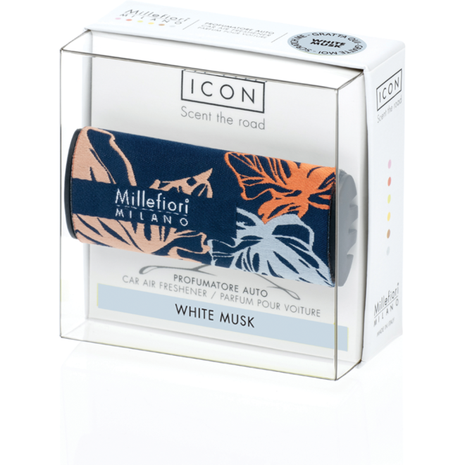 Icon car 72 White Musk- Textile Floral