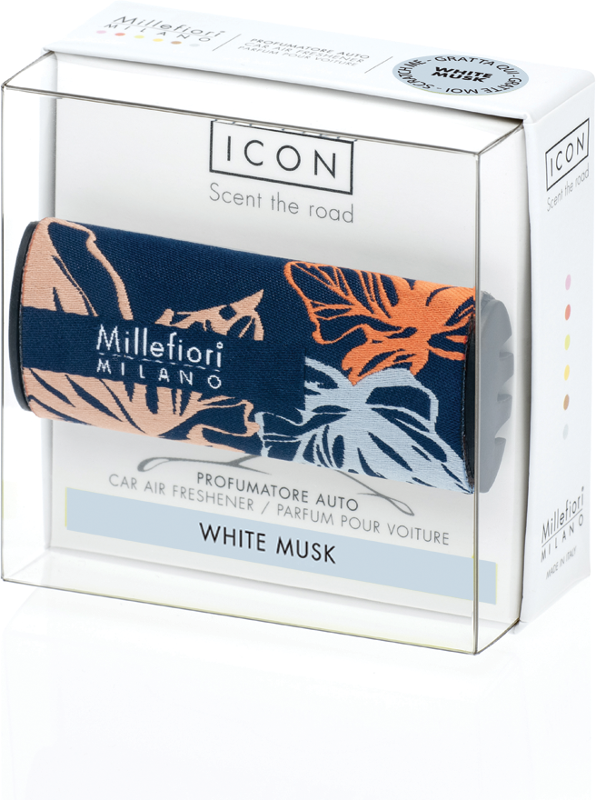Icon car 72 White Musk Textile Floral autoparfum