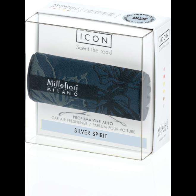 Icon car 71  Silver Spirit - Textile Floral