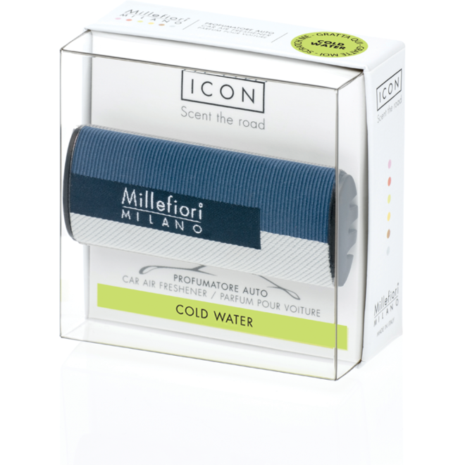 Icon car 45 Cold Water- Textile Geometric