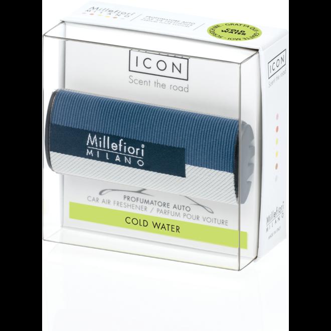 Icon car 45 Cold Water- Textile Geometric car perfume