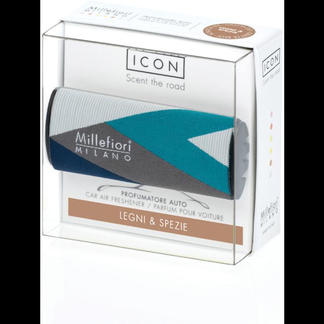 Icon Auto 47 Legni en Spezie - Textile Geometric