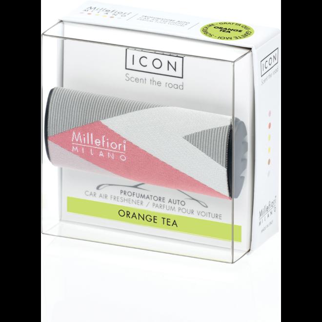 Icon car 48 Orange Tea - Textile Geometric autoparfum