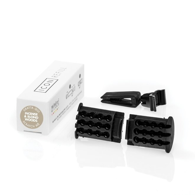 Icon car refill Incense en Blond Woods