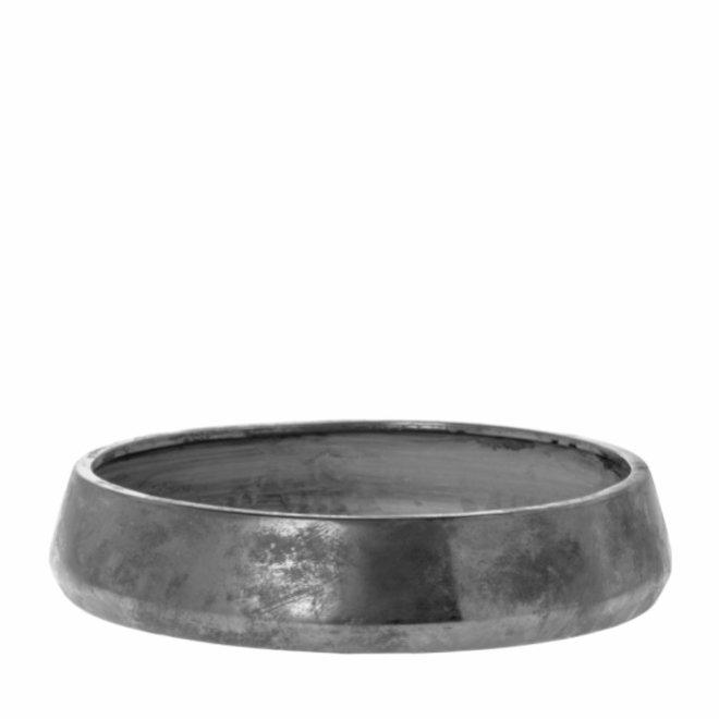 Schaal Jolly antiek zilver 38cm