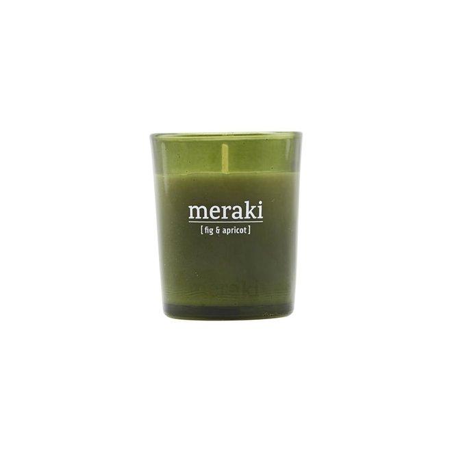 Duftkerze Feige & Aprikose grün