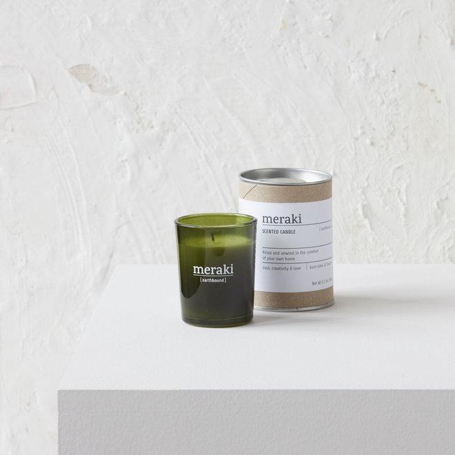 Duftkerze erdgebundenes Grün