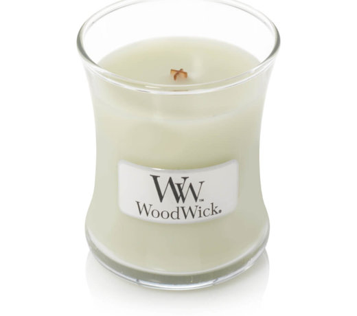 Woodwick Fig leaf and Tuberose candles