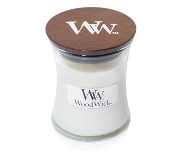 Woodwick White Teak kaarsen