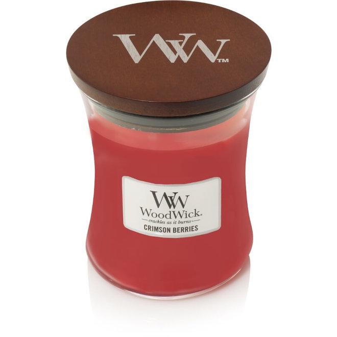 Crimson Berries Kerze Medium