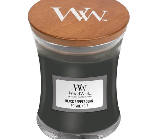 Woodwick Black Peppercorn candles