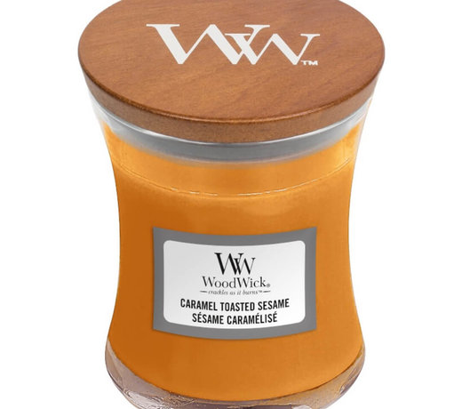 Woodwick Caramel Toasted Sesame candles