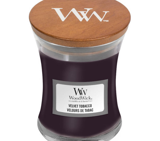 Woodwick Velvet Tabacco candles
