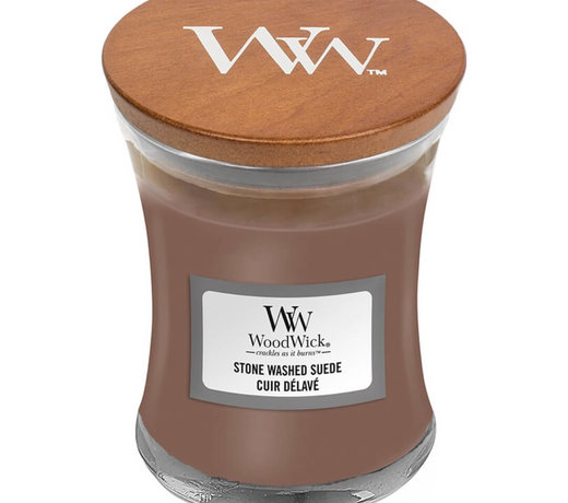 Woodwick Stone Washed Suede candles