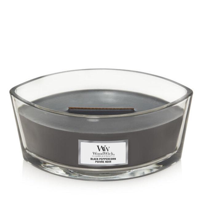 Black Peppercorn ellipse candle