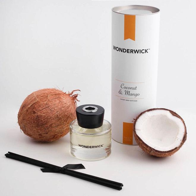 geurstokjes Coconut Mango wit